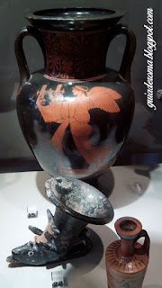 Museo Barracco Vaso Grego Figra Vermelha - Museu Barracco de Roma