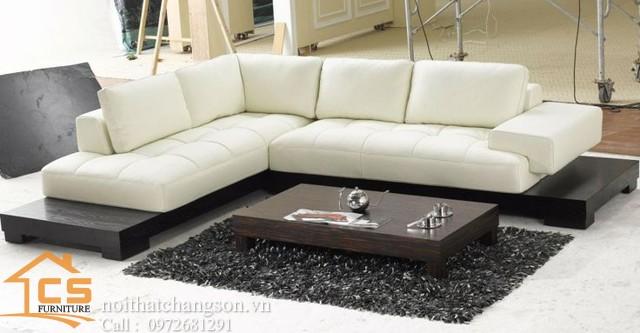 Sofa bền đẹp - giá rẻ sản xuất tại xưởng Nội Thất Chàng Sơn: Sofa đẹp 14