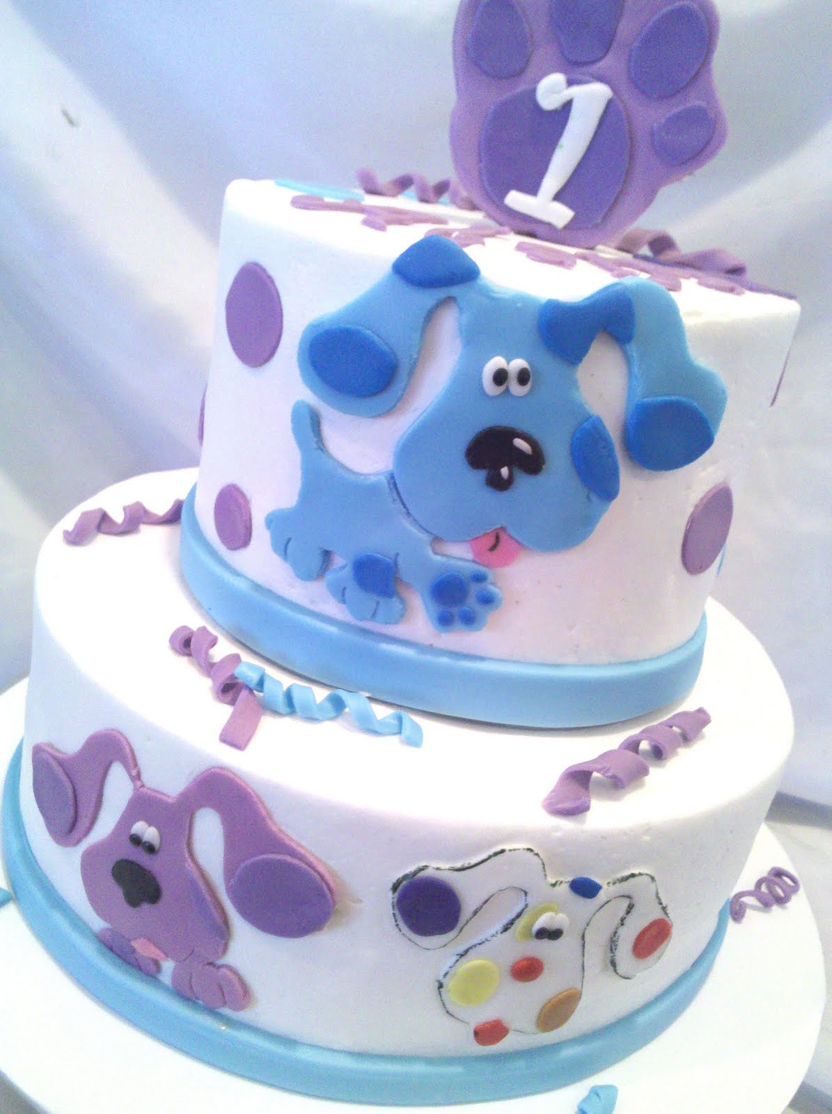 Blues Clues Birthday Party Cake
