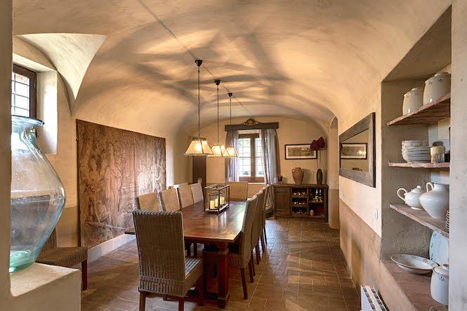 Dining room Deluxe Masia Costa Brava
