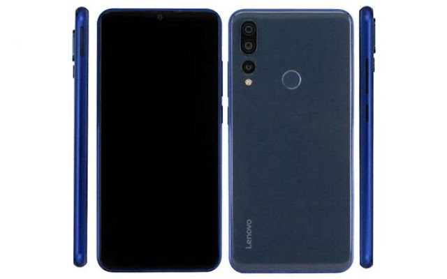 Lenovo Z5s with punch hole display
