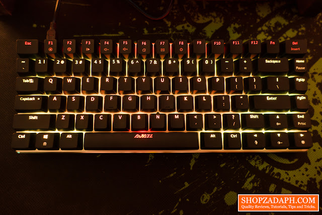 ajazz ak33 zorro switch review