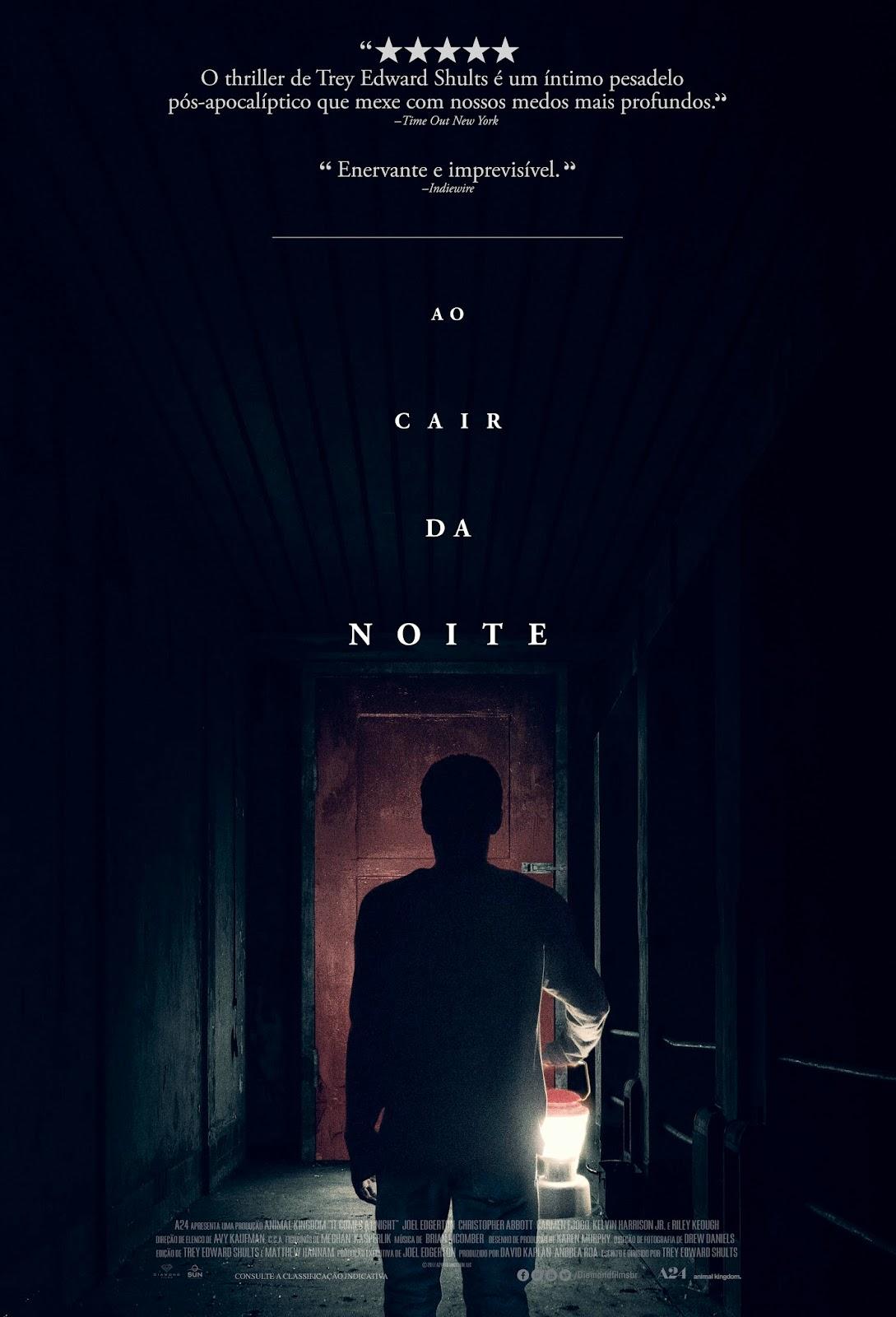 Ao Cair da Noite filme