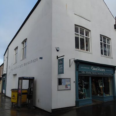 The Steel Rooms venue in Brigg town centre
