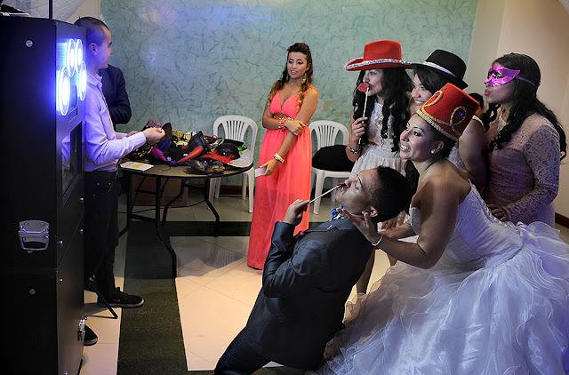 Alquiler de fotocabinas para bodas