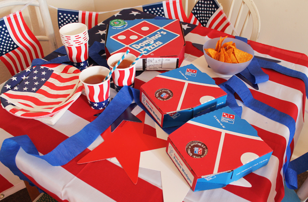 Food Tips And Party Ideas For An American Theme Family Birthday Party The Simple Life