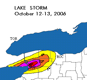 Radar - Buffalo October Storm 2006