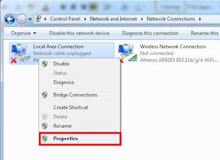 Cara Setting IP Address pada Windows 7-change adapter setting