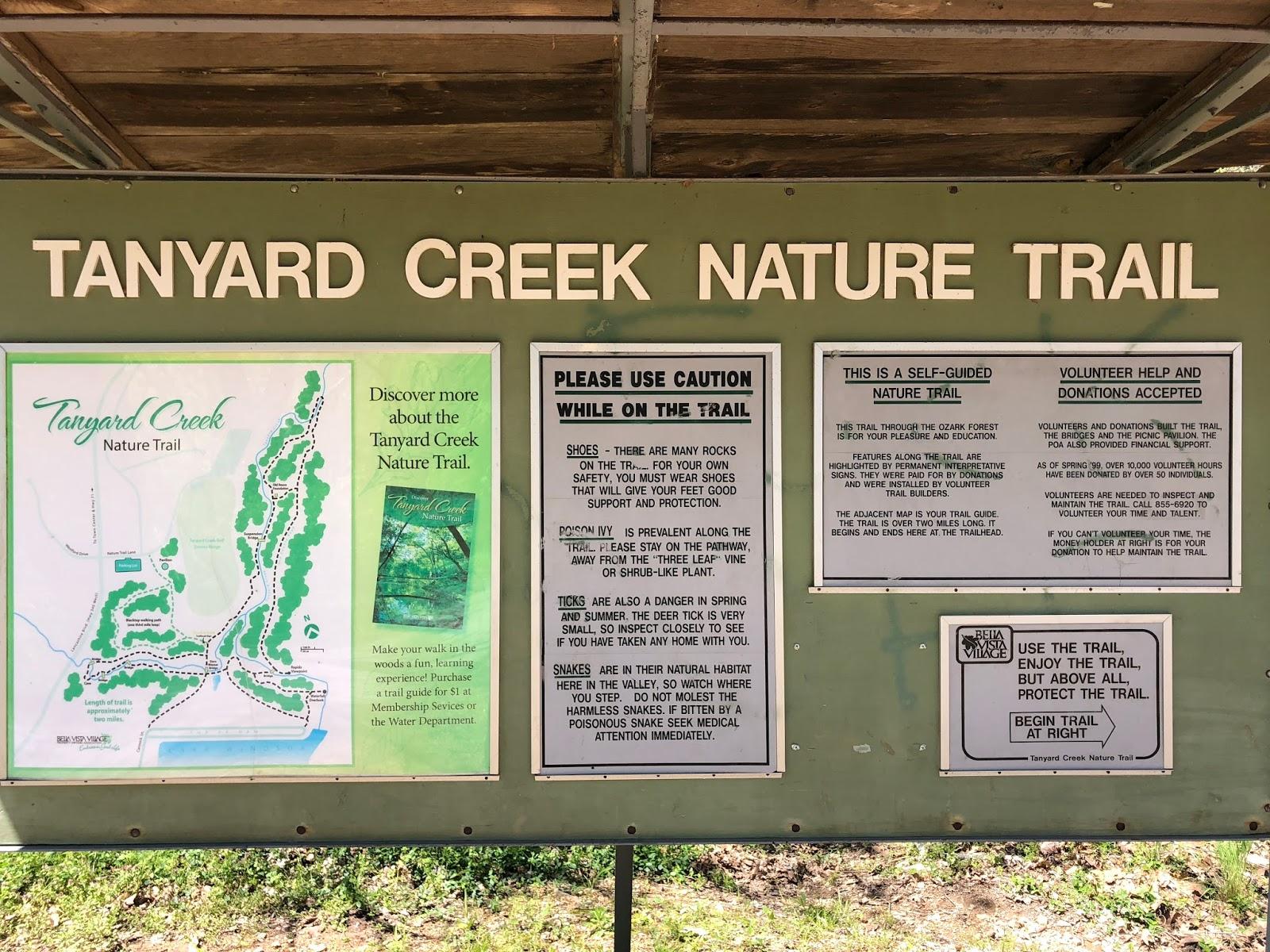 A Quiet Whisper: Tanyard Creek Nature Trail