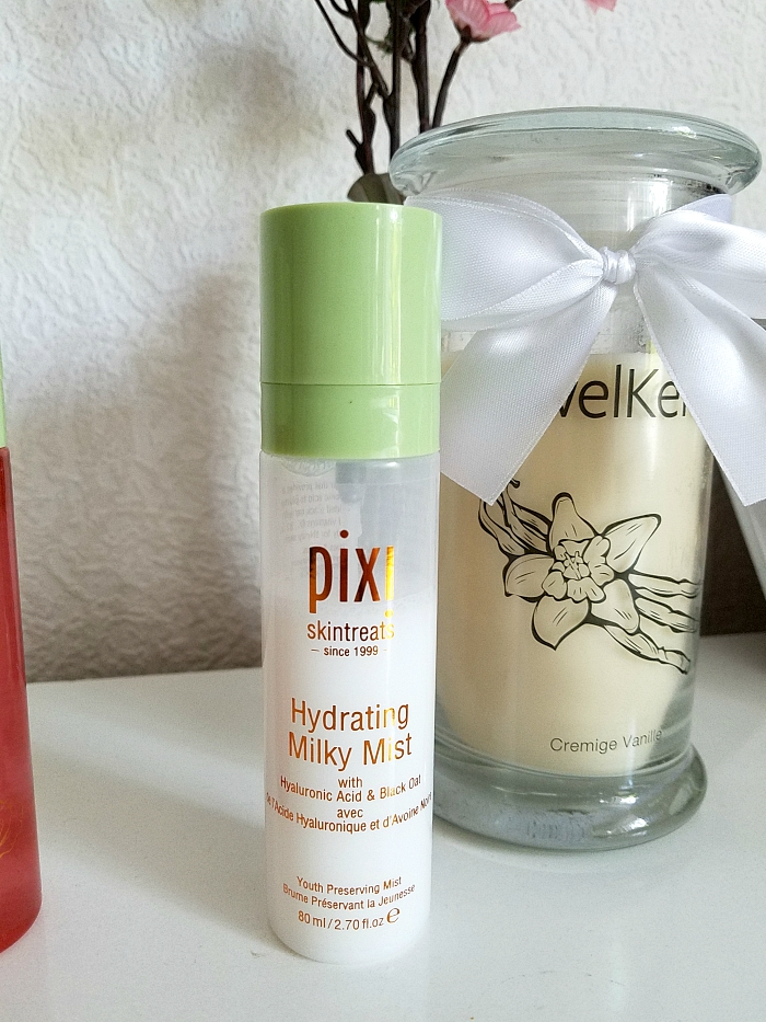 pixi Beauty Skintreats - Face Mist Review - Hydrating Milky Mist Youth Preserving  - Madame Keke - Review