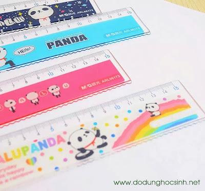 Thước kẻ 15 cm hình gấu Panda (96713)