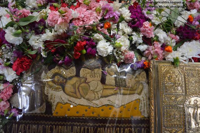Ο Επιτάφιος του Ι.Ν. του Αγίου Αντωνίου στον Σβορώνο Πιερίας