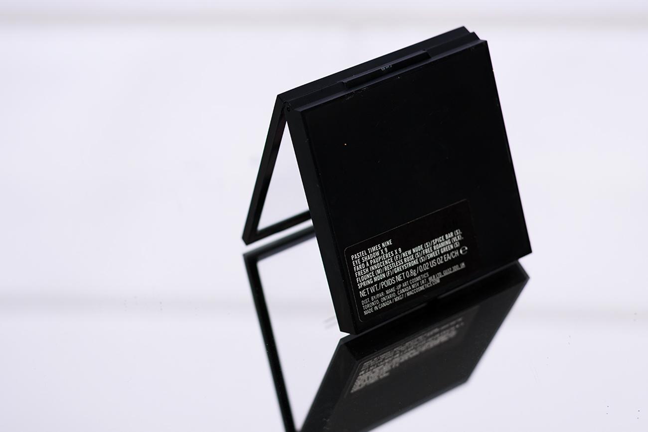 MAC-PASTEL-TIMES-NINE-EYE SHADOWS-X9-recenjza-paleta-cienie