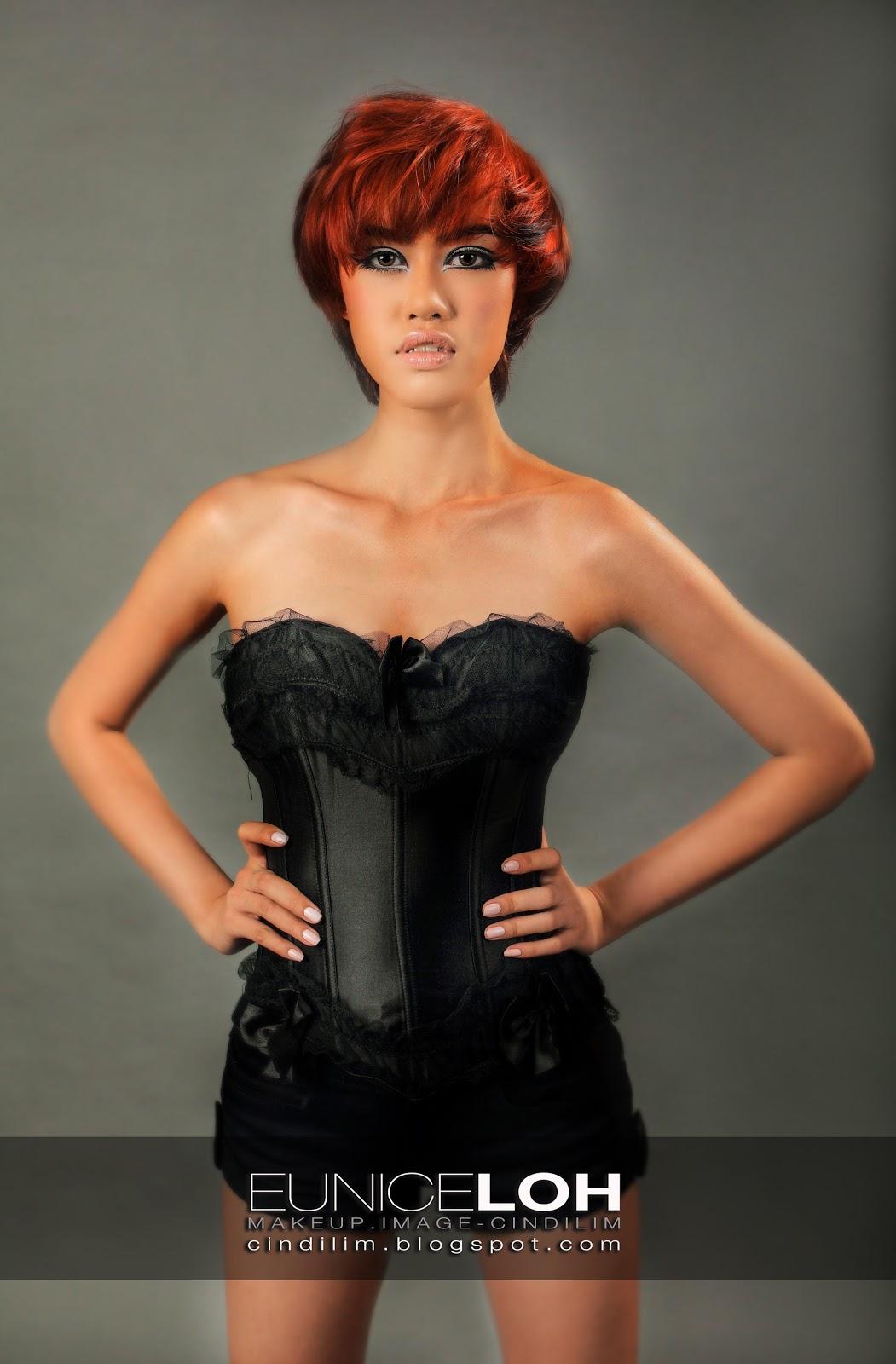 Cindi Pro Makeup Artist Commercial Photoshoot Makeup: :: Cindi Pro. Makeup Artist ::: Red Copper's Eunice Loh