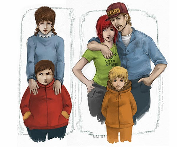 Real Life Southpark Kids With Parents Cartmanjpg Pictures