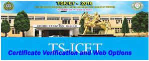 TS ICET Counselling Dates 2016, Certificate Verification dates 2016, Web Options, Seat Allotment Order available official website www.tsicet.nic.in. TS ICET 2016 Eligibility Candidates Admission into MBA and MCA 1st Years Courses. TS ICET Counselling dates will be start from 26th August 2016.
