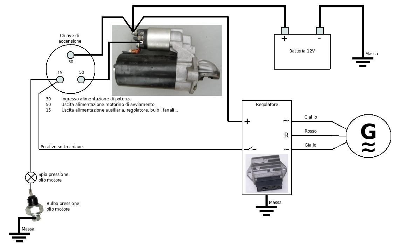 Schema Collegamento Motorino Tergicristallo : Andrea urbini homepage ripristinare impianto elettrico