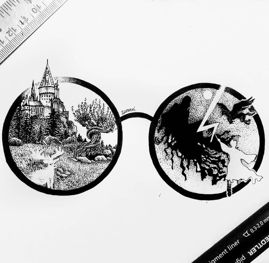 03-Harry-Potter-and-Hogwarts-Suravi-Sengupta-www-designstack-co