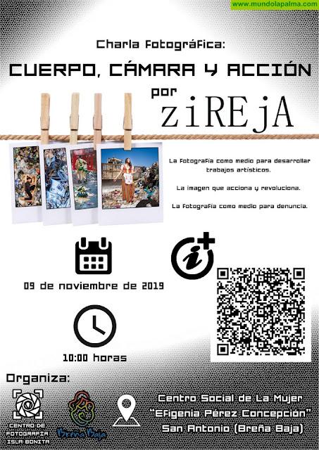 """BREÑA BAJA: Charla fotográfica """"Cuerpo, Cámara y Acción"""""""