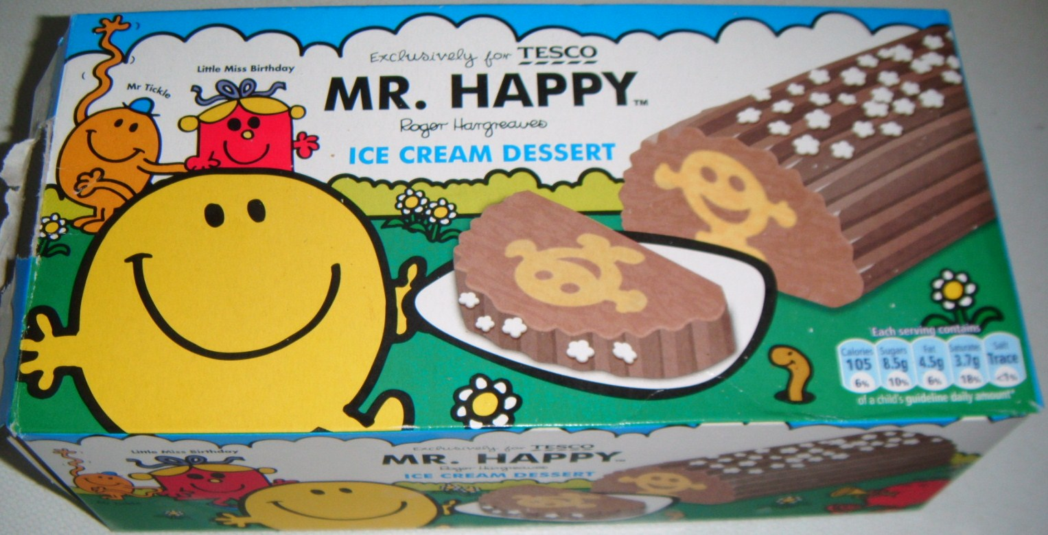 Foodstuff Finds Mr Happy Ice Cream Tesco By Cinabar