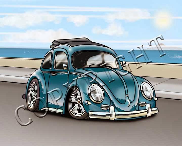 VW Bug Print