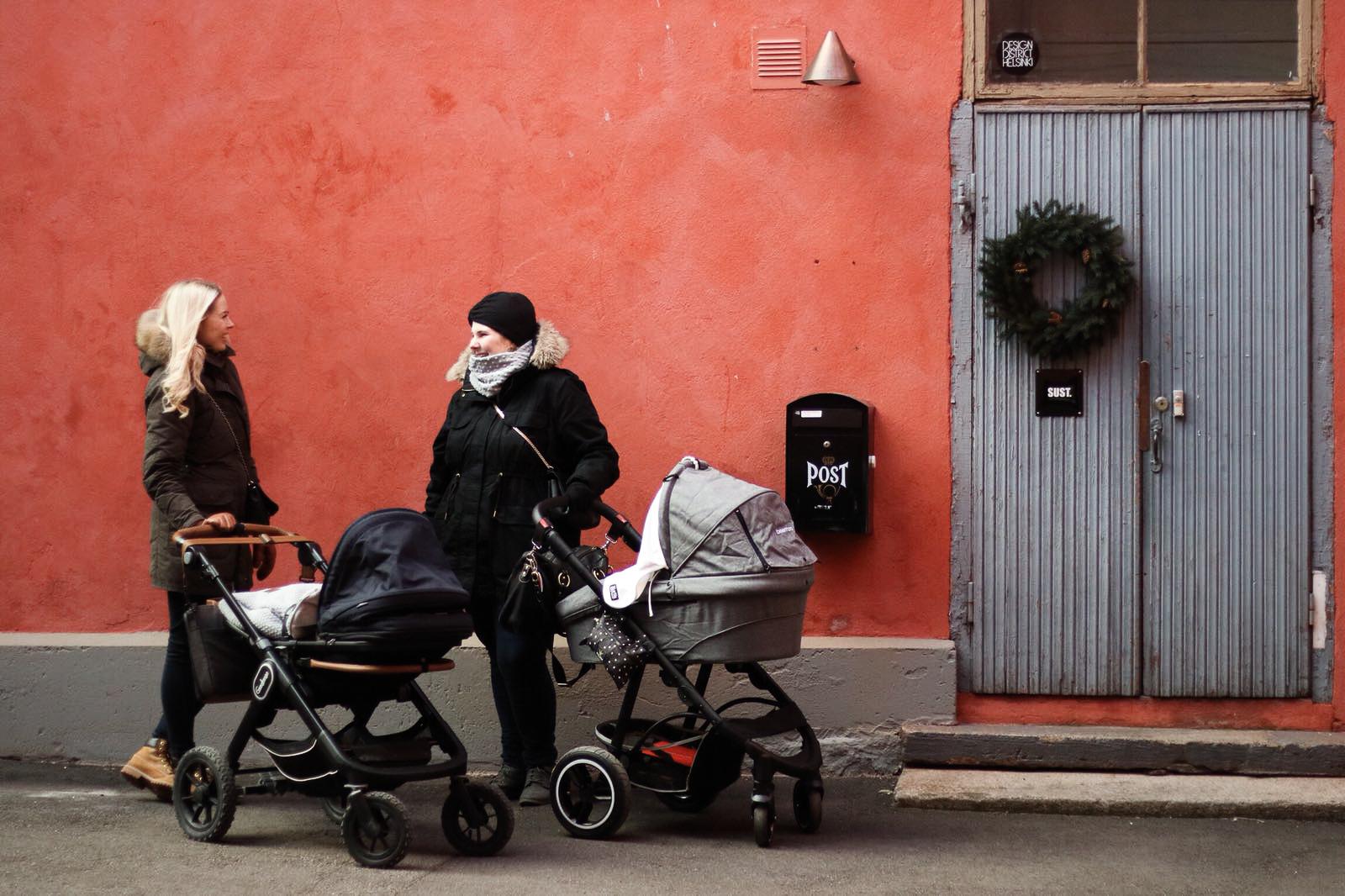Anniina Jalkanen, lapsiperheen arki, arki, vauva, vauvavuosi
