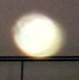 bright yellow orb