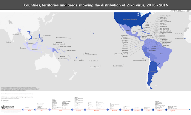 Zika Timeline, Infographic, WHO