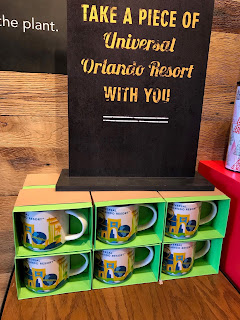 Universal Studios Florida Starbucks You Are Here Mugs