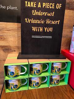 Universal Studios Florida Starbucks You Are Here Mugs