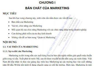 Marketing căn bản - Tài liệu Marketing - Tải tài liệu Miễn phí