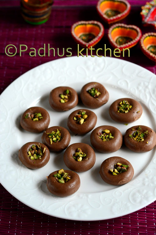 Chocolate Peda