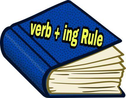 Adding Ing To Verb - Rule, Example, Excercises In Hindi
