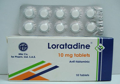 نشرة دواء وسعر لوراتادين مضاد للحساسية والالتهابات Loratadine Tablets