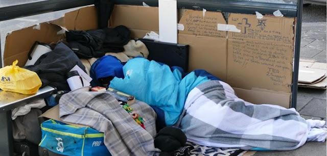 Περισσότεροι άστεγοι στην Ευρώπη – 150% αύξηση στη Γερμανία