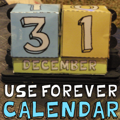 calendarios, perpetuos, anuales, mensuales, ideas útiles