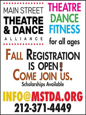 Register Now For MST&DA Fall Theatre, Dance & Fitness Classes