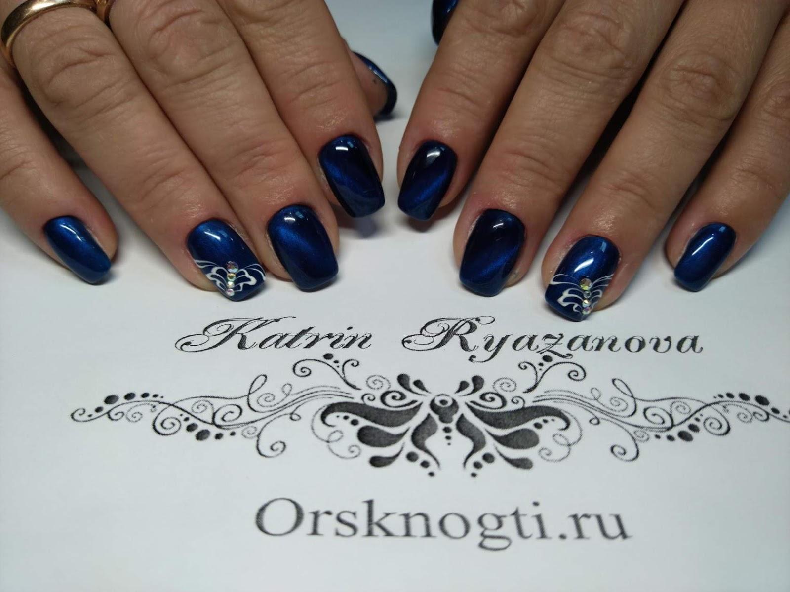 Black & White Nails Art Disign: Magic Nails Indiana Pa