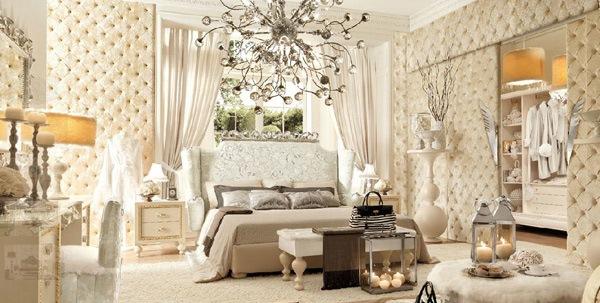 Kamar tidur besar full wallpaper