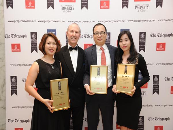 Chủ đầu tư dự án Vinhomes Đại Mỗ đứng đầu 3 giải thưởng