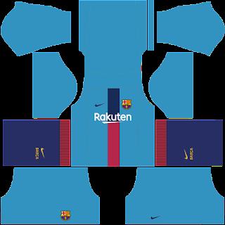 Jersey Dream League Soccer Barcelona Terbaru
