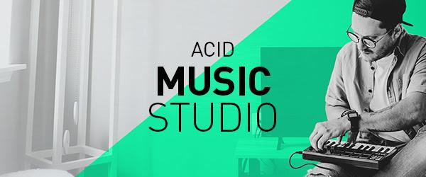 Maior, melhor aparência, mais compacto: MAGIX anuncia ACID Music Studio 11