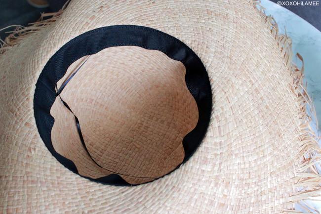 Japanese Fashion Blogger,Mizuho K,6月に買ったモノ,メルカリ-フリンジラフィアハット