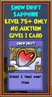 Snow Drift - Wizard101 Card-Giving Jewel Guide