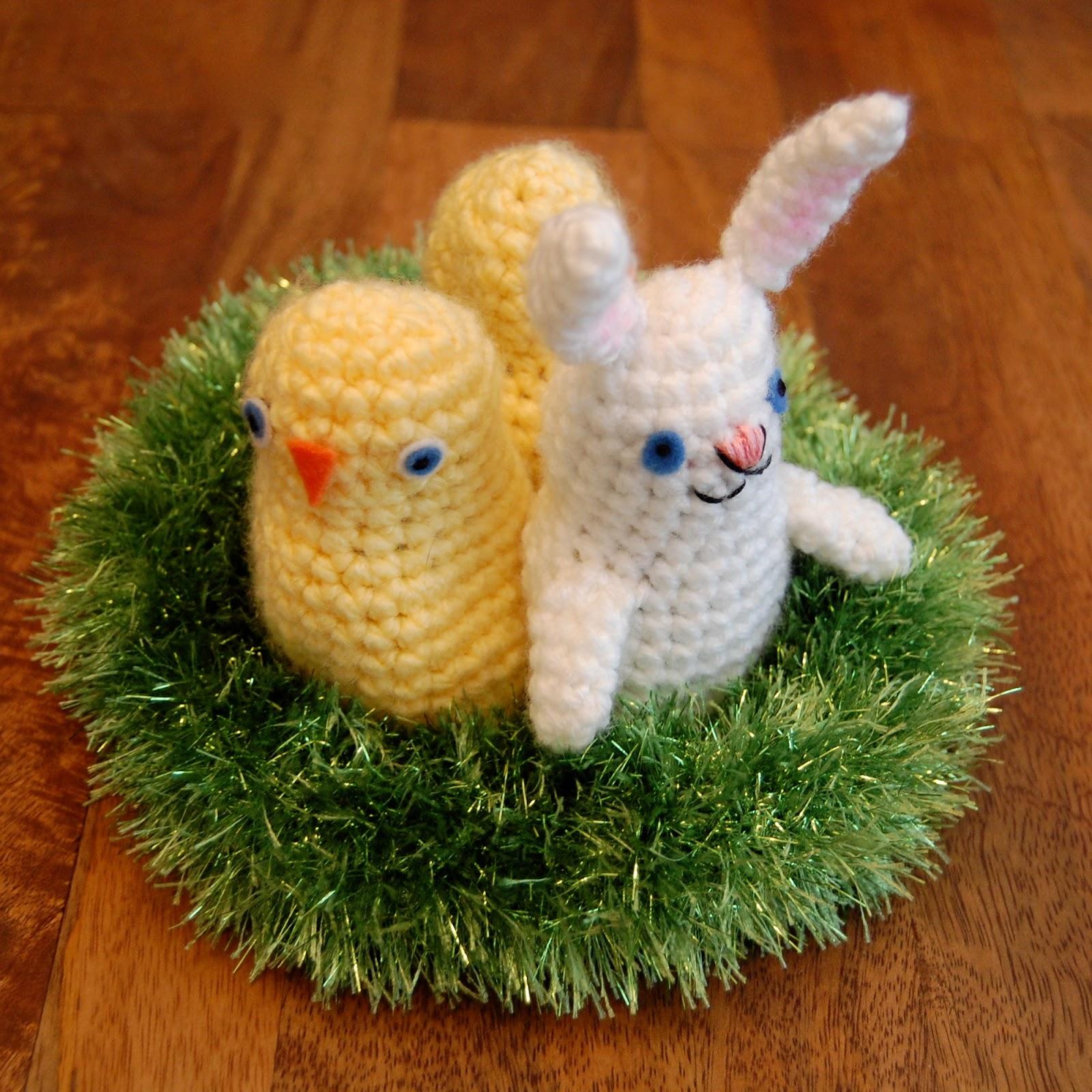 Craftyiscool Easter Basket Babies Free Crochet