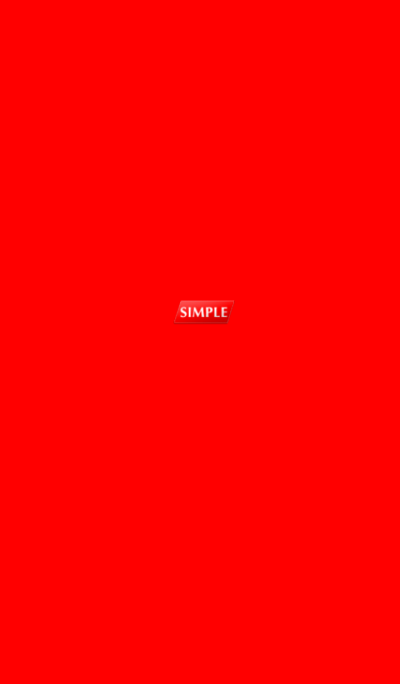 Simple Red Super