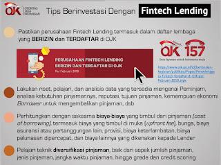 OJK - Tips berinvestasi di Fintech Lending