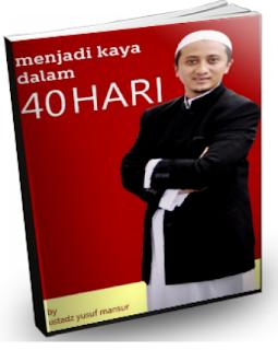 Download eBook GRATIS | Menjadi Kaya Dalam 40 Hari