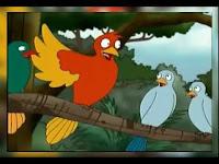101 Kumpulan Dongeng anak | Cerpen anak kisah Burung Merpati, Burung Gagak dan Tikus