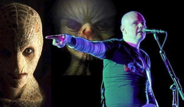 Rockero Billy Corgan aseguró que tuvo la experiencia con ser reptiliano